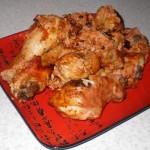 Жареные куриные бёдрышки «Римский легион» (фоторецепт)